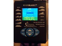 Roger black gold 2 in 1 Bycicle and cross trainer