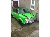 Austin Mini 998 Project 99% Done Classic Mini !