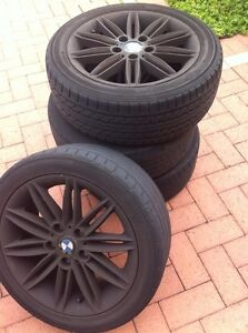 BMW M SERIES 17 INCH WHEELS East Perth Perth City Area Preview