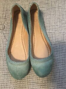 Frye Carson leather ballet flats - Size 6.5 Like new