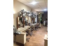 Chairs for rent in well-established Falkirk salon