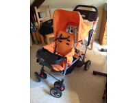 Pushchair - Joovy Caboose Sit and Stand Stroller