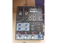 Alesis Multimix 4 USB FX - Home Recording Studio Mixer + Audio Interface Effects