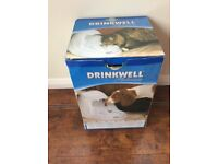 DRINKWELL PLATINUM WATER DISPENSER FOR DOGS AND CATS NEW IN BOX