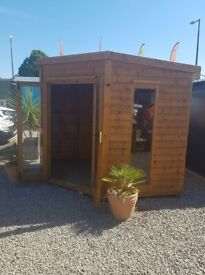 Regal Corner House - From 6 X 6 for £1290 - Delivered and fitted - 10 Week Delivery