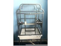 lazybones parrot cage open top as new (only used overnight) £115