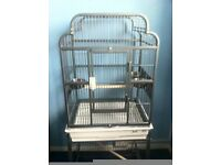 lazybones parrot cage open top as new (only used overnight) £125