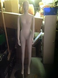 Mannequins brand new retail at over £150,bargain at £45 each deal on the lot 4 available