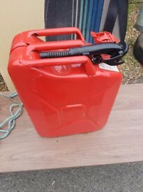 25l jerry can and nozzle