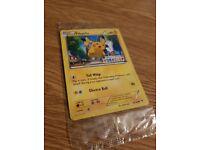 Pokemon Pikachu Build a Bear Card Sealed