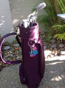 Junior Golf Bag and some sticks Mermaid Waters Gold Coast City Preview