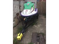 Sea-Doo XP650 Jetski with Trailer and Cover
