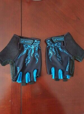 SCJ NEW Thunderwear Leather Palms finger gloves size XL Cycling Sailing