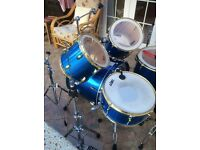 Good quality drum kit in very good condition.