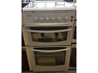 a439 white & silver stoves 50cm gas cooker comes with warranty can be delivered or collected