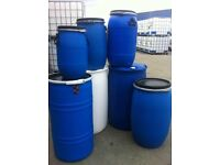 Barrels, drums ibc tanks