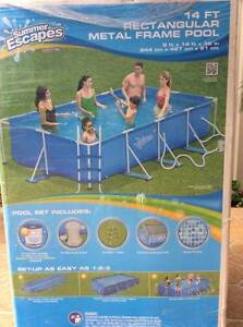14 FT Metal Frame Pool Glenmore Park Penrith Area Preview