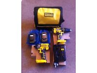 Stanley fat max drill and impactor.
