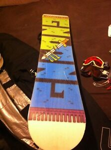 Monster limited addition snowboard