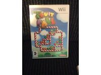 Wii super fruit Fall GAME Boxed