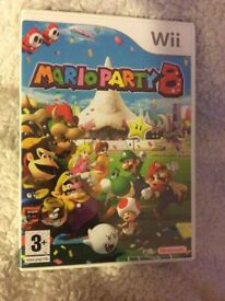 Wii Mario Party 8 GAME Boxed with Booklet