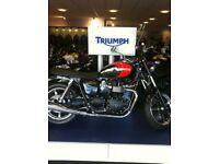 Fabulous 2012 Triumph Bonneville