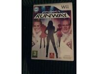Wii Project RUNWAY GAME Boxed