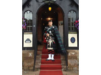 Professional Piper – all areas covered – lowest prices around