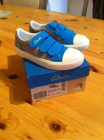 Infant boys clarks shoes (brand new)