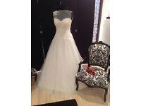 Justin Alexander UK size 14 wedding dress