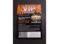 MCM comic con- VIP ticket 45£