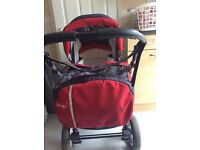 Suitable from birth baby merc pram