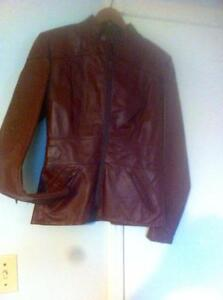 Vintage Leather Jacket BRAND NEW -SMALL