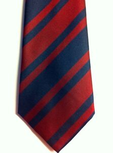 ROYAL-ENGINEERS-REGIMENTAL-STRIPE-TIE-POLYESTER-NEW-RE