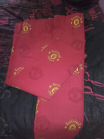 Manchester United Bedroom Curtains