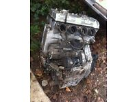 Kawasaki 750cc Engine and gear box, Would be FAST on a go kart !!!!