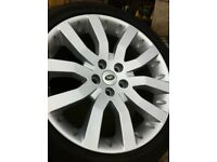 "Range Rover Sport supercharged alloys and new tyres . 20"" . 275 40 20"