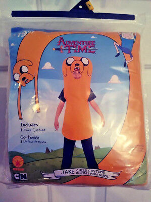 ADVENTURE TIME JAKE CHILD COSTUME HALLOWEEN BY RUBIES CN BOY BOY LARGE (10-12) - Adventure Time Kids Costumes