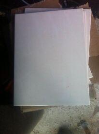 Large Bathroom Tiles measuring 25 cm x 33 cm (never used)