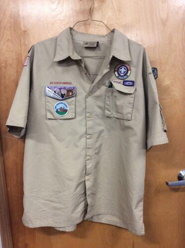 Boy Scouts Of America Uniform Shirt XLARGE Men
