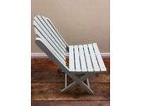 Pair Of Calyso Green Deck Chairs