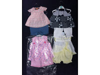 4 baby girls sets. 3-6 months never been worn.