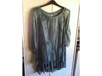Brand New, tags still attached, beautiful Silk Top size 16/18/20
