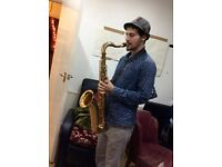 Saxophone, clarinet and flute teacher (first lesson is free!)