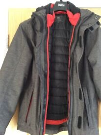 Men's Marks and Spencer Thinsulate Winter Coat Size Small