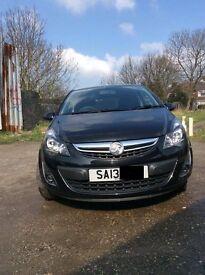 2013 Vauxhall Corsa 1.2 SXi 3dr [AC] Petrol Matalic black Manual