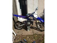 yamaha 2002 85cc new piston all works starts 1st time big wheel