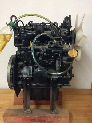 Yanmar 3tna72uj 3 Cylinder Industrial Diesel Engine John Deere Skid Loader