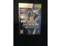 XBOX 360 KINECT Michael Jacksonthe Experience GAME Boxed
