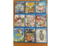 PS VITA + GAMES (ASSORTED) AND MEMORY CARDS VERY CHEAP, FREE POSTAGE